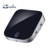 Sale Bluetooth V4 1 Transmitter And Receiver 2 In 1 Wireless Audio Adapter With Optical Toslink Spdif And 3 5Mm Stereo Output Support Apt X Low Latency 2 Devices Pair At Once For Home Or Car Sound System Intl