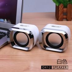 Sale Bonks Dx12 Wire Mini Pc Speakers Music Usb 2 Stereo Portable Computer Speaker For Laptop Desktop Notebook Hifi Multimedia Speaker Intl Not Specified Original