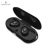 Cheapest Borofone Be8 Tws True Wireless Earbuds Bluetooth 4 1 Sports Headphones With Recharging Storage Box Intl Online
