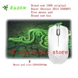 Cheapest Brand New Original Razer Abyssus 2014 Ambidextrous Gaming Mouse 3500Dpi Optical Sensor 3 Programmable Hyperesponse Buttons Free Mouse Pad Intl Online