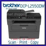 Discount Brother 3 In 1 Monochrome Laser Multi Function Centre With Automatic 2 Sided Printing And Wireless Networking Dcp L2550Dw 2550 L2550 L2550Dw Dcp Brother