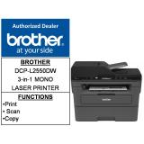 Brother Dcp L2550Dw Free 25 Shopping Voucher Till 14 Mar 2018 3 In 1 Mono Laser Printer Tn2460 Tn2480 Dr2455 Tn 2460 Tn 2480 Dr 2455 Shopping
