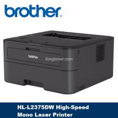 Review Brother Hl L2375Dw High Speed Mono Laser Printer Automatic 2 Sided And Wireless Printing L2375 Dw Brother On Singapore