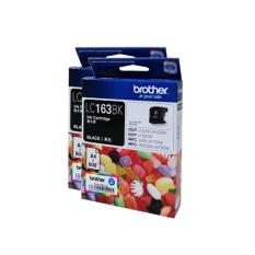Top Rated Brother Original Lc163Bk Value Pack Of 2 Sets Black Ink Cartridge Dcp J752Dw Dcp J152Dw Dcp J552Dw Mfc J245 Mfc J470Dw Mfc J650Dw Mfc J870Dw