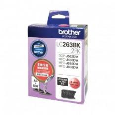 Sale Brother Original Lc263Bk Black Ink Value Pack Of 2 Sets Of Lc263Bk Cartridges Dcp J562Dw Mfc J480Dw Mfc J680Dw Mfc J880Dw Brother