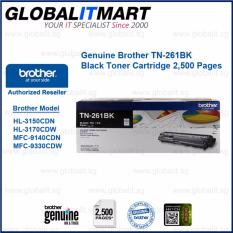 Sale Brother Original Tn 261Bk Black Toner Cartridge For Hl 3150Cdn Hl 3170Cdw Mfc 9140Cdn Mfc 9330Cdw Brother Wholesaler