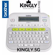 Review Brother Pt D210 Handheld Label Maker Label Printer P Touch Brother On Singapore