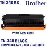 Brother Tn 340Bk Compatible Black Laser Toner Prints 2500 Pages 5 Coverage For Sale Online