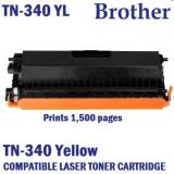 How To Buy Brother Tn 340Y Compatible Yellow Laser Toner Prints 1500 Pages 5 Coverage