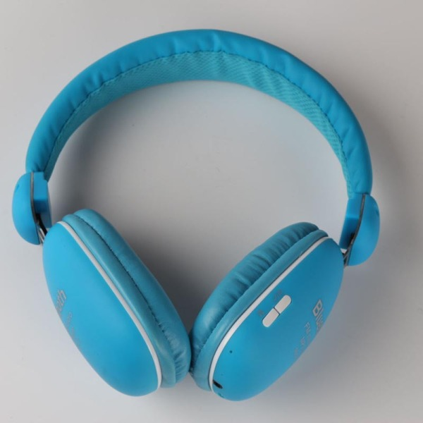BT-27 Wireless Bluetooth Headphone Stereo Subwoofer (Blue) Singapore