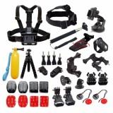 Buy Bundle Kit Mount Tripod Strap Monopod Clip For Go Pro Hero 6 5 4 3 Xiao Mi Yi 4K Sj Cam Sj4000 H9 Mijia 4K Action Sport Camera Accessories Intl Cheap China