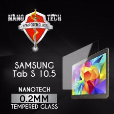 Compare Price Buy 1 Free 1 Nanotech Samsung Galaxy Tab S 10 5 T800 T805 Tempered Glass Screen Protector On Singapore