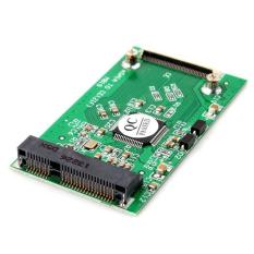 BUYINCOINS mSATA PCI-E SSD to ZIF CE Adapter Card (Green)