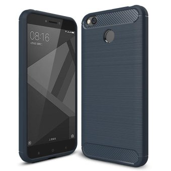 BYT Carbon Rugged Armor Cover Case for Xiaomi Redmi 4X