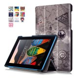 Low Price Byt Colorful Printing Tablet Leather 3 Folio Flip Cover Case For Lenovo Tab3 7 Essential Tb3 710F If Intl
