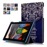 Buy Byt Colorful Printing Tablet Leather 3 Folio Flip Cover Case For Lenovo Tab3 7 Tab3 730F Intl Online