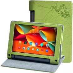 Byt Flower Debossed Leather Case For Lenovo Yoga Tab 3 850F 8Inch Yt 850F M L Green Price