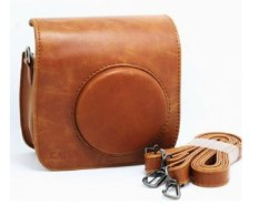 Latest Caiul Carry Case For Fujifilm Instax Mini 25 Brown
