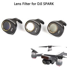 Sale Camera Lens Filter Hd Clear Waterproof Nd8 Cpl Mcuv Filters Kit Nd Dimmer For Dji Spark Won T Affect Gimbal Calibration Joint Victory Branded