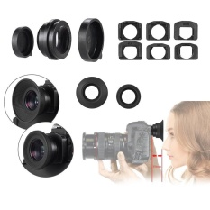 Best Price Camera Zoom Viewfinder Eyepiece Eyecup Magnifier Kit For Canon Eos 70D 60D 50D Intl