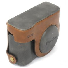 Purchase Canon Case G16 Leather Case And Strap For Powershot G16 G15 G11 G12 Online