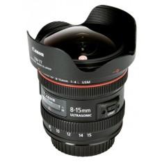 For Sale Canon Ef 8 15Mm F 4L Fisheye Usm Lens For Dslr