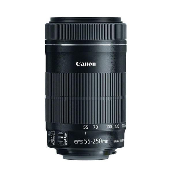Buy Canon Ef S 55 250Mm F 4 5 6 Is Stm Telephoto Zoom Lens Black Canon Original