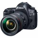Top Rated Canon Eos 5D Mark Iv Dslr Camera With 24 105Mm F 4L Ii Lens