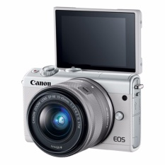 Canon Eos M100 + Ef-M 15-45mm F3.5-5.6 Is Stm (white) By Best Zone D.