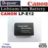 Review Canon Lp E12 Lithium Ion Battery For Eos Dslr Camera By Divipower Singapore
