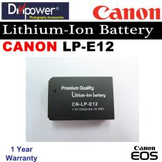 Canon Lp E12 Lithium Ion Battery For Eos Dslr Camera By Divipower Best Buy