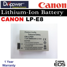 Price Canon Lp E8 Lithium Ion Battery For Eos Dslr Camera By Divipower Divipower Singapore