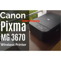 Who Sells Canon Mg3670 Wireless All In One Printer Print Scan Copy Black The Cheapest