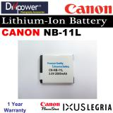 Review Canon Nb 11L Lithium Ion Battery For Powershot Ixus Camera By Divipower On Singapore