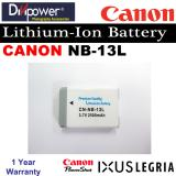 Canon Nb 13L Lithium Ion Battery For Powershot Ixus Camera By Divipower Price