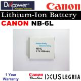 Who Sells Canon Nb 6L Lithium Ion Battery For Powershot Ixus Camera By Divipower The Cheapest