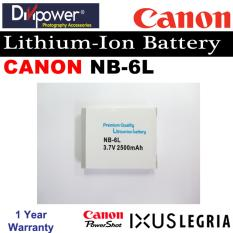 Review Canon Nb 6L Lithium Ion Battery For Powershot Ixus Camera By Divipower Divipower On Singapore