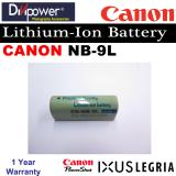 Price Canon Nb 9L Lithium Ion Battery For Powershot Ixus Camera By Divipower Divipower