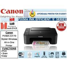 Cheaper Canon Pixma E3170 Printer Free Pg 47 Black Ink Creative Pack Til 20Th May 2018