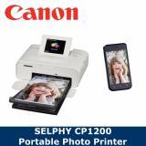 Canon Selphy Cp1200 Portable Photo Printer White Singapore Local Warranty Canon Cheap On Singapore