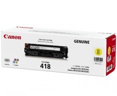 For Sale Canon Toner Cartridge 418 Yellow
