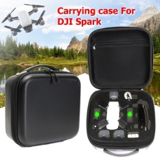 Compare Price Carbon Fiber Portable Waterproof Carrying Case Storage Bag Box For Dji Spark Intl On China