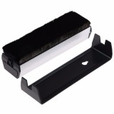 Low Price Carbon Fiber Vinyl Record Cleaning Cleaner Anti Static Velvet Microfiber Brush Intl
