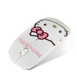 Sale Cartoon Kitty Cat 2 4Ghz Wireless Mouse Cute Female Office Mouse Kt Optical Mouse Intl On China