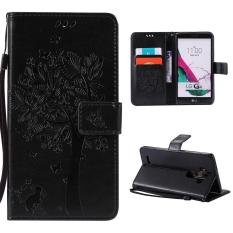 Buy Case For Lg G4 Flip Leather Wallet Magnetic Closure Case Black Intl Moonmini Online