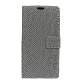 Store Case For Samsung Galaxy Note 8 Woven Pattern Leather Wallet Case Cover Grey Intl Moonmini On China