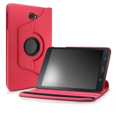 Case For Samsung Galaxy Tab A 10 1 Case Smart Pu Leather 360 Degrees Rotating Stand Case Cover For 2016 Release Samsung Galaxy Tab A 10 1 Inch Tablet Sm T580 Sm T585 Only Red Export Shop