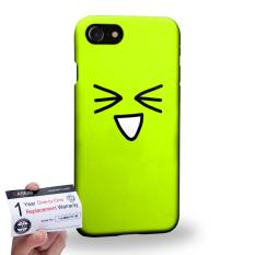 Buy Case88 3D Printed Snap On Hard Case Warranty Card For Apple Iphone 7 4 7 Art Fashion Excited Kawaii Emoticon Edition
