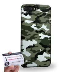 Buy Case88 3D Printed Snap On Hard Case Warranty Card For Apple Iphone 8 Plus Army Camo Camouflage Pattern 4720 Green Black White Online Hong Kong Sar China