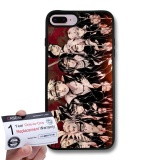 Buy Case88 Snap On Hard Case With Black Tpu Bumper Warranty Card For Apple Iphone 8 Plus Naruto Akatsuki 0014 Intl Hong Kong Sar China